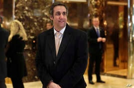FILE - Michael Cohen, an attorney for President-elect Donald Trump, arrives in Trump Tower in New York.