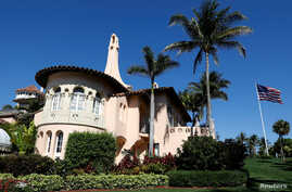 FILE - U.S. President Donald Trump's Mar-a-Lago estate in Palm Beach, Florida, March 22, 2019.