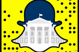 The White House has joined popular video sharing app Snapchat.