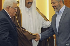 Palestinian Rivals Agree to Form Unity Government