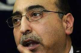 Pakistan foreign office spokesman Abdul Basit during a press conference in Karachi (File)