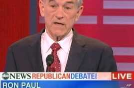 Small Government Key to Ron Paul Campaign