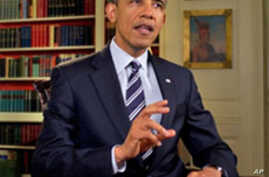 President Obama Urges Congress to Help Homeowners