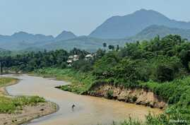 A Laotian fisherman casts his net in the Mekong river in Luang Prabang, (File photo).