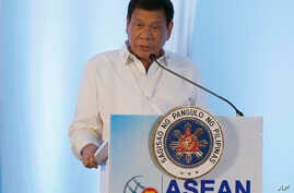 Laos ASEAN Summit Duterte