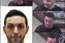 FILE - This undated photograph provided by Belgian Federal Police shows Mohamed Abrini who is wanted by police in connection with recent attacks in Paris, as a police investigation continues.