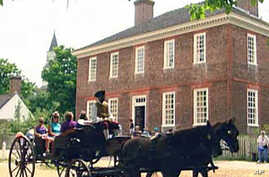 America's Early History Lives Again in Williamsburg