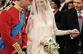 Britain's Prince William Marries Catherine Middleton
