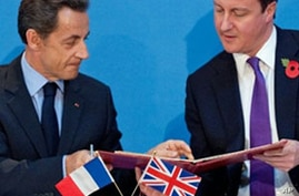 Britain, France Sign Historic Defense Pacts