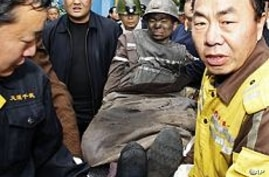 45 Chinese Miners Rescued From Cave-In