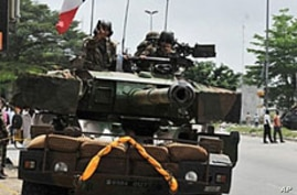French Forces Attacked in Ivory Coast
