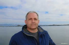 Paul Whelan, a U.S. citizen detained in Russia for suspected spying, appears in a photo provided by the Whelan family on Jan. 1, 2019.