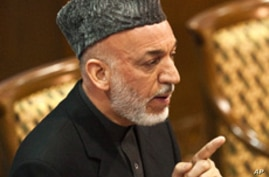 Karzai Outlines Conditions for US Troops Remaining in Afghanistan