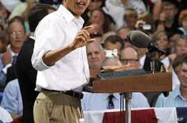 Obama Midwest Bus Tour  Focuses on Economy