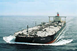 This undated handout picture released by Japanese shipping company Mitsui OSK Line on 29 Jul 2010 shows the oil tanker 'M.Star'
