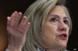 Clinton: US Far From Decision on Libya No-Fly Zone