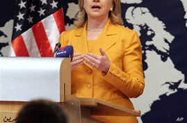Clinton Urges 'Constructive Engagement' by Iran in Nuclear Talks