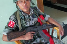 Ethnic Militia Challenges Burma's Army, New Government
