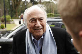 Soccer WWCup Absent Blatter