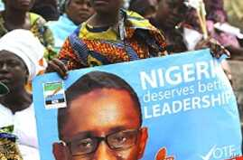 Nigerian Presidential Candidates Campaign on Improving Security