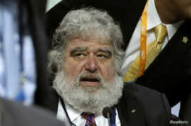 FIFA executive member Chuck Blazer attends the 61st FIFA congress at the Hallenstadion in Zurich June 1, 2011. Sepp Blatter cleared the final obstacle to a fourth term as FIFA president on Wednesday when delegates decided overwhelmingly to proceed wi
