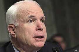 Sen. John McCain, R-Ariz., the ranking Republican on the Senate Armed Services Committee