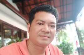 Kong Mas opposition activist from Svay Rieng province.
