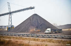 "Rio Tinto's ""Benga"" coal mining operation in Tete province"