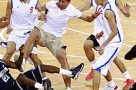 US, China Basketball Game Erupts in Melee