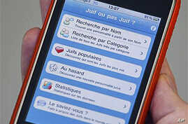 Apple Removes 'Jew' iPhone App From Stores in France