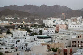 FILE - A general view of Muscat, Oman.  A new report released Wednesday, July 13, 2016 by Human Rights Watch alleges that foreign maids working in Oman face abuse and conditions that near slavery.