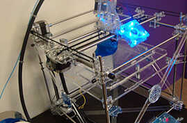 New Printer Produces 3D Objects