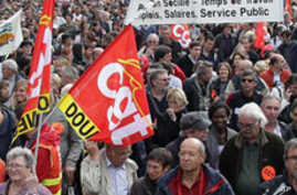 French Protesters Rally Over Pension Reform