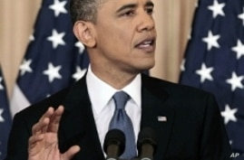 Text of President Obama's Address on Mideast, North Africa Issues
