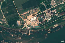 This Agust 6, 2012 satellite image provide by GeoEye on August 22, 2012 shows the Yongbyon Nuclear Scientific Research Center in North Korea. (AFP photo/GeoEye Satellite Image)
