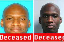 These images released by the FBI show photos of Aaron Alexis, who police believe was a gunman at the Washington Navy Yard shooting in Washington, Sept. 16, 2013, and who was killed after he fired on a police officer.