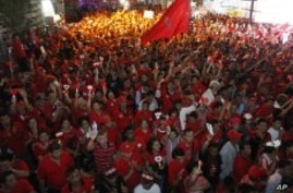 30,000 Thai Red Shirts Join Anti-Government Rally in Bangkok