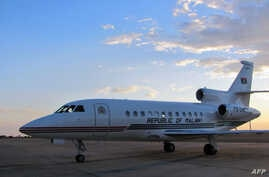 Banda hads announced the sale of the $13.3-million USD (11-million-euro) presidential jet, (File photo).