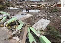 Pacific Island Nations Dig Out From Tsunami