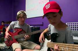 Kids Become Rockers At DC Music Camp