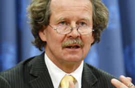 Manfred Nowak, Special Rapporteur on Torture (file photo)