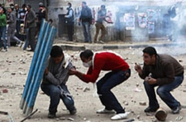 Egyptians Angry Over 'Excessive' Military Force