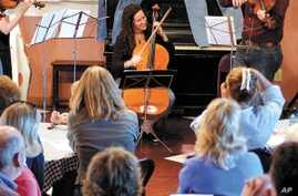 New York Music Conservatory Plays Entrepreneurial Song