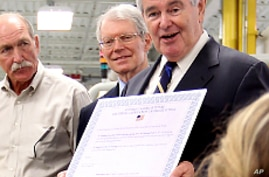 Polls: Gingrich Leads GOP Presidential Rivals