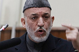 Afghanistan's Karzai Pushes Ahead With Peace Talks