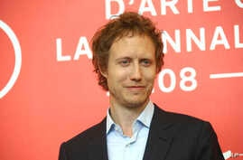 """Director Laszlo Nemes attends the photo call for the film """"Sunset"""" at the 75th edition of the Venice Film Festival in Venice, Italy, Sept. 3, 2018."""