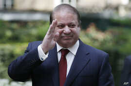 FILE - Pakistan's Prime Minister Nawaz Sharif, Apr. 30, 2014.
