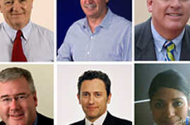Talbot Group Holdings shows Queensland mining magnate Ken Talbot (top C) with management board members of Sundance Resources, killed in West Africa Plane Crash, 21 June 2010
