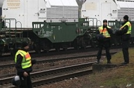 French Nuclear Waste Train Enters Germany