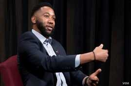 Ndaba Mandela's new book, 'Going to the Mountain,' higlights lessons from his grandfather, the late Nelson Mandela. The younger man was interviewed at Voice of America's Washington headquarters.